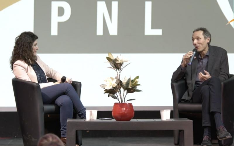 J'ai été intervenante sur le 30ème congrès annuel de la Fédération NLPNL, j'y interviewais l'écrivain Laurent Gounelle.