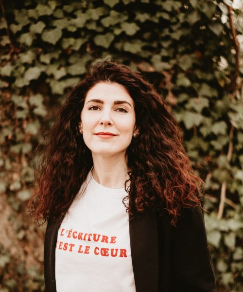 Ambre Blanes, author writer and public speaking coach via Le Mot Juste since 2018. Get the strengh of your speech in your emotions, perfect your content and boost your charisma with my support!